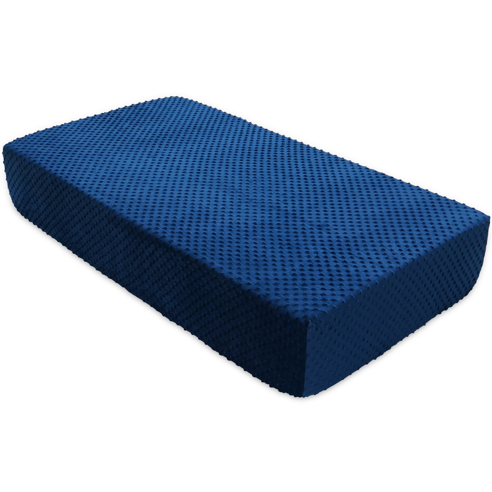 BlueSnail Super Soft Stretchy Fitted Crib Bed Sheet for Standard Crib and Toddler Mattress