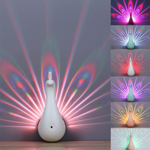 LED Peacock Night-Light【BUY 2 FREE SHIPPING】