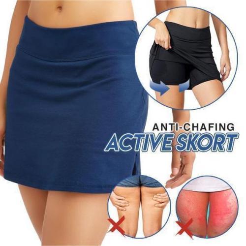 ANTI-CHAFING ACTIVE SKORT - SUPER SOFT & COMFORTABLE
