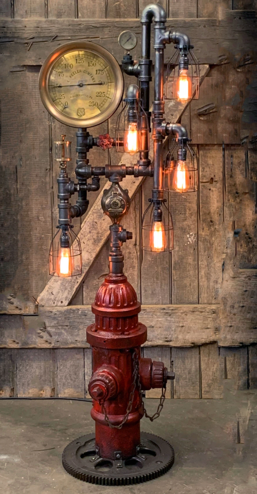 Steampunk Industrial Lamp【Buy2 Free Shipping】