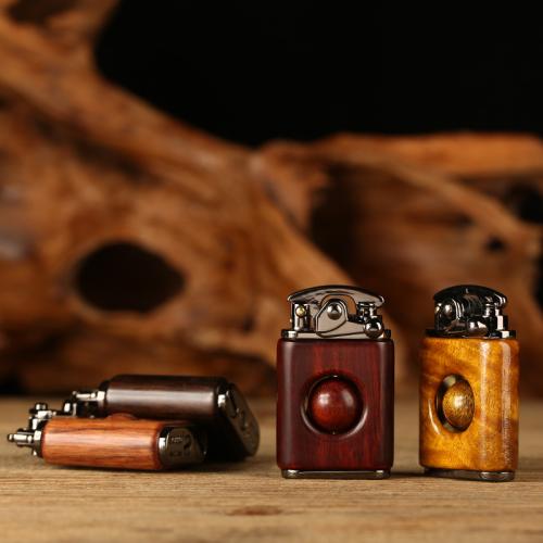 Handmade Wood Pattern Lighter