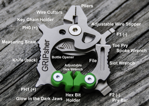 Powerful compact portable multi-function tool