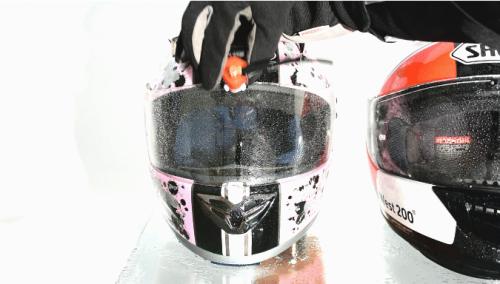 Mini Electric Wiper For Motorcycle Helmet