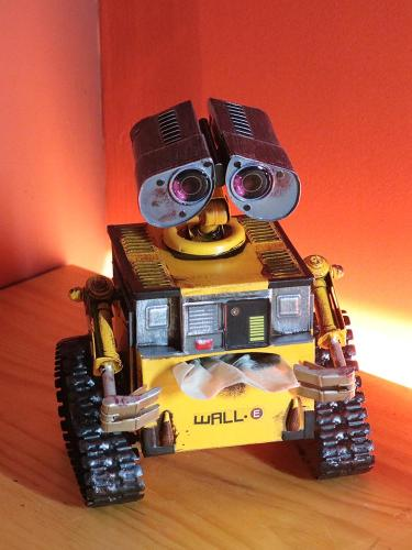 Cold rolled steel Wali Robot Paper Box/Table Lamp