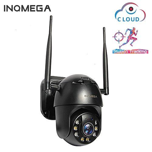 1080P PTZ IP Camera Wireless Auto Tracking Outdoor Waterproof 4X Digital Zoom Speed Dome 1Inch WiFi Security CCTV Camera