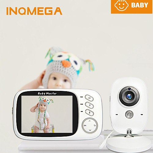 Wireless Video Baby Monitor 3.2 inch Baby Nanny Security Camera Night Vision Temperature Sleeping Monitor Babysitter