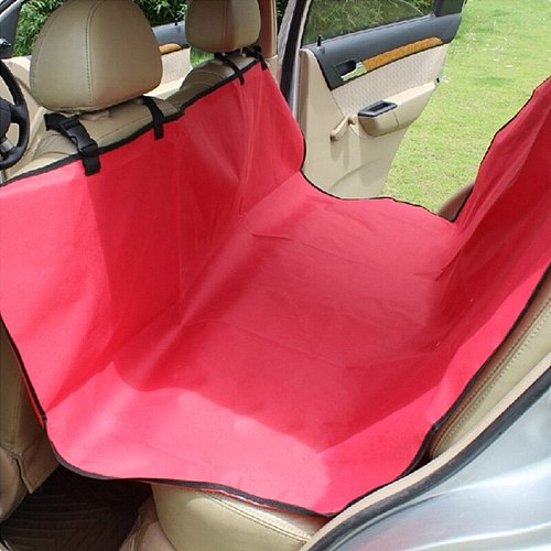 Waterproof Single Layer Oxford Pet Rear Car Mat Car Seat Cover Cushion Hammock Protector Carrying Dog and Cat TransportDogStuff