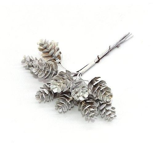 20Pcs Artificial Pine Nuts Artificial Fake Flowers for Home Garden Decor Christmas Ornaments DIY Scrapbooking Wedding Decoration