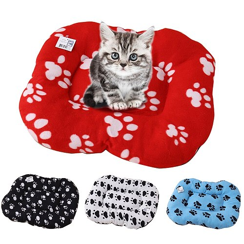 Warm Pet Cat Dog Bed Mat Cats Dogs Beds Nest Super Soft Pads Mattress Washable Pets Cat Dog Bed Sofa Breathable