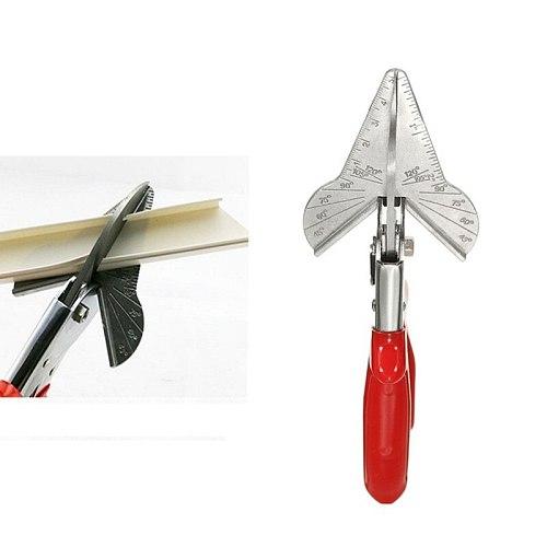 45-120 Degree Multi Angle Duct Cutter PVC PE Plastic Pipe Hose Scissor Cut Housework home decor Plumbing Tool Mitre Siding Wire