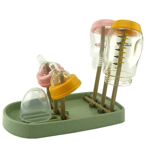 Baby Detachable Feeding Bottle Drying Rack Baby Bottle Dryer Cleaning Feeding Cup Stand Holder Nipple Shelf Drying for Bottles