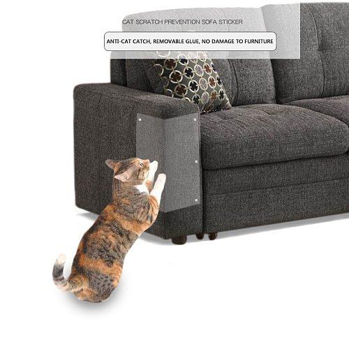 2Pcs Cat Pet Scratcher Guards Flexible Cat Tree Cat Furniture Protector Pet Scratching Post Paw Clawing Care Pet Products