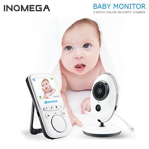 Wireless LCD Audio Video Baby Monitor Radio Nanny Music Intercom IR Portable Baby Camera Baby Walkie Talkie Babysitter