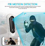 Wireless Powered Battery Camera Home Security 1080P Mini IP Camera WiFi Night Vision Camera Rechargeable PIR/Audio/Alarm