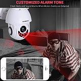1080P IP Camera PTZ Speed Dome Outdoor WiFi Wireless 2 Way Audio SD Card IR Vision ONVIF Video Surveillance H.265 ICSEE