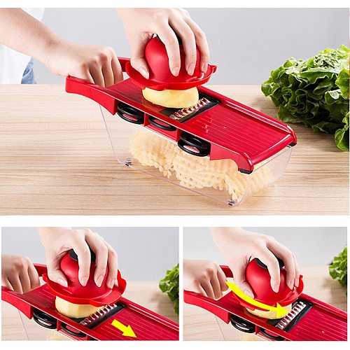 Multi-function Kitchen Slicer Vegetable Cutter Potato Peeler Carrot Cheese Grater Vegetable Slicer Kitchen Gadget