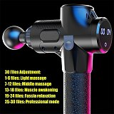 2500mAh LCD Display Massage Gun Deep Muscle Massager Muscle Pain Body Massage Exercising Relaxation Slimming Shaping Pain Relief