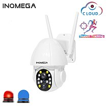 1080P PTZ Dual-Lens Wifi Camera Outdoor Auto Tracking Cloud Home Security IP Camera 2MP 4PX Zoom Speed Dome CCTV Camera