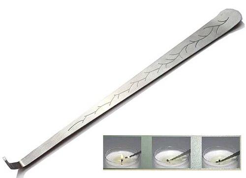 20cm Dipper Snuffer Trimmer Candle Wick Pattern Extinguish scissor trim Tool Hook