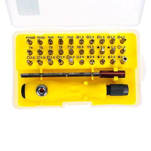 32 in 1 Precision Screwdriver Set Mini Magnetic Screwdriver Set for Phone Mobile Ipad Camera Maintenance Tool