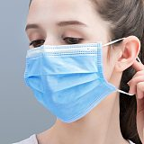25 pcs/Bag FDA CE Certification Disposable Medical Mask Thickened 3 Layer Non-woven Protective Surgical Mask Fast Delivery