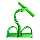 4 Tube Fitness Resistance Bands Exercise Equipment Elastic Fitness Resistance Bands 6 Color Sit Up Pull Rope Gym Workout