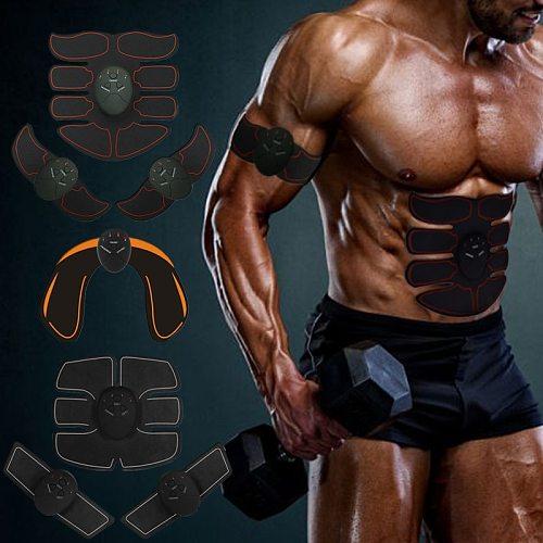 Eletric Muscle Stimulator ABS Muscle Stimulator Electric Stimulation Abdominal Belt EMS Trainer Massage Anti Cellulite Massager