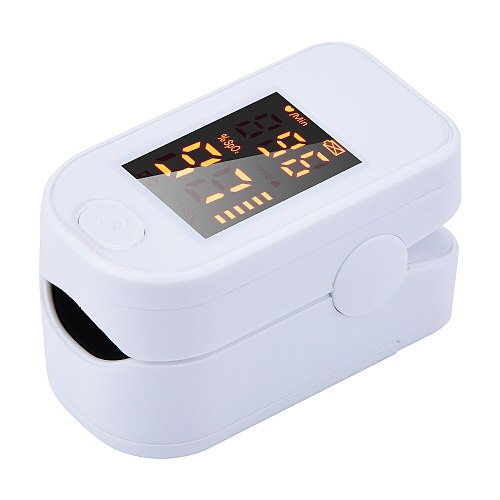 Finger Pulse Oximeter Blood Oxygen Monitor Oxygen Saturation Monitor Home Health (without Battery)