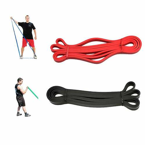 208cm Natural Latex Pull Up Physio Resistance Bands Fitness CrossFit Loop Bodybulding Yoga Exercise Equipment