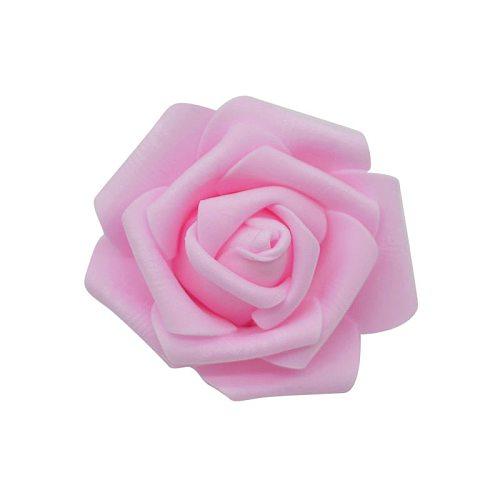 50pcs/lot 6cm Artificial Foam Roses Head PE Foam Rose Flower Head for Wedding Home Festival Decorative Flowers DIY Wreaths Craft