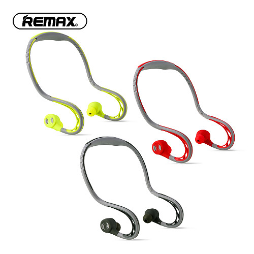 Remax S20 bluetooth sports In-ear Earphone waterproof Super Bass Stereo Noise Canceling Earbuds Wireless Headsets for hifi music
