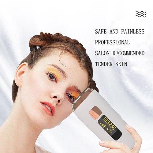 Professional IPL Laser Hair Removal Epilator Facial Bikini Trimmer Photoepilator for Women Sensitive Skin Depilador a Laser