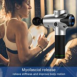 2020 LCD Display Massage Gun Deep Muscle Massager Muscle Pain Body Massage Exercising Relaxation Slimming Shaping Pain Relief