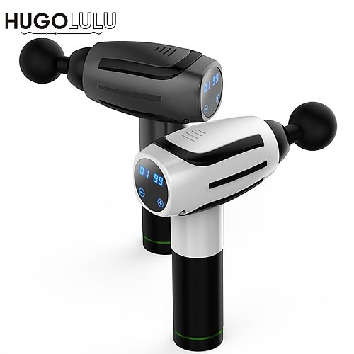 HG05 LCD/black/red/white/ touch screen Muscle Muscle Management Training Tissue Exercising Body Massage Gun
