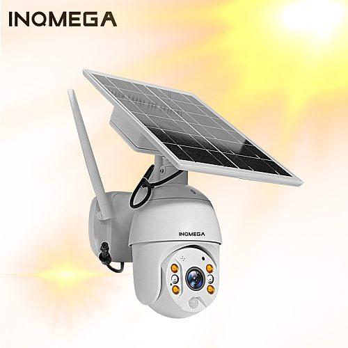 Solar Power Panel PTZ Dome IP Camera WiFi 1080P Outdoor Wireless Security Camera PIR Motion Detection Surveillance CCTV