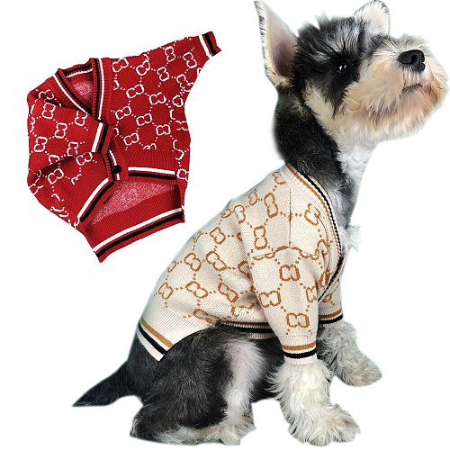 Winter Pet Puppy Sweater Jacket Clothing Dog Outfit Coat Clothes For Chihuahua French Bulldog Pug Costume For Dogs