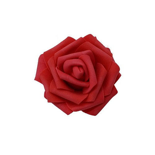30Pcs/lot 8cm Big Artificial Flower Heads PE Foam Rose for Wedding Party Home Decoration DIY Wreath Flower Ball Wedding Favors