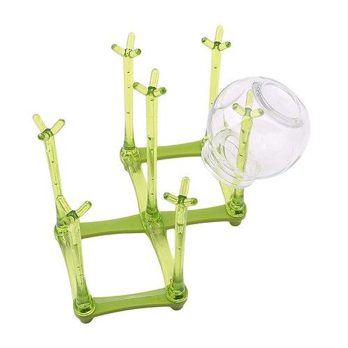 3 Colors Baby Bottle Drying Racks Baby Bottle Cups Dryer Infant Feeding Shelf PP Healthy Bottle Drainer Pacifier Holder