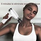 2020 Intelligent Massage Gun Fascial Gun Muscle Relaxation Body Pain Management Therapy Vibrator Massager Training Exercising