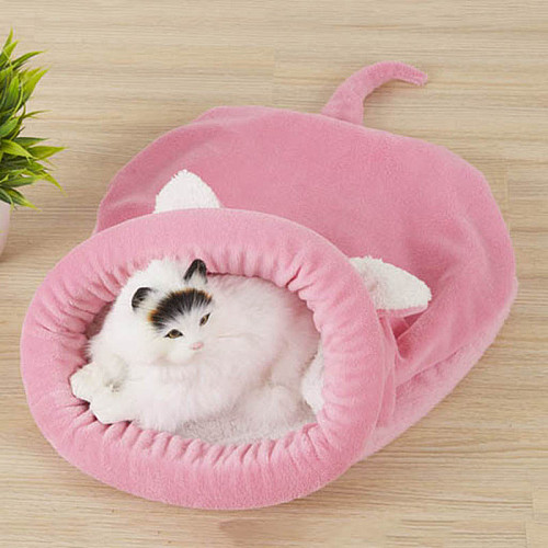 Warm Sleeping Bag Cat Bed Pet Mats Soft Cute House For Cat Pet Products