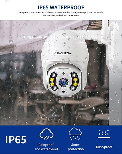1080P 1inch Super Mini PTZ IP Camera full color Night Vision Outdoor Indoor WiFi Security CCTV Camera Onvif H.265