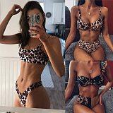 Sexy Leopard Bikinis 2020 Micro Bikini Set Push Up Thong Biquini High Cut Swimwear Women Mini Swimsuit Female Bathing Suit
