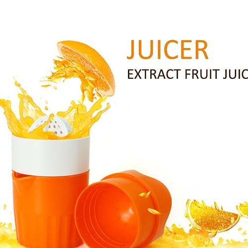 High Quality Manual Juicer Orange Lemon Fruit Squeezer Child Portable Juicer Healthy Life Potable Juicer Machine Blender 300ML