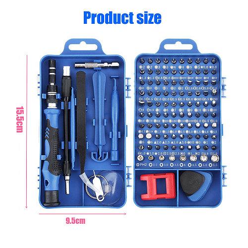 115 in 1 Screwdriver Set Mini Precision Screwdriver Torx for Iphone Huawei Ipad Computer Mobile Phone Repair Hand Tools