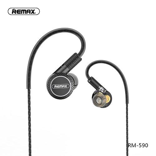 Remax Triple moving coil drive units Noise Reduction hifi earphone with mic 3.5mm aux for phone xiaomi fone de ouvido kulaklik