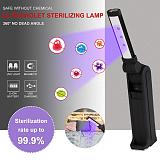 UVC Beads LED Disinfection Light Built In Rechargeable Battery LED Ultraviolet Lamp Disinfection Germicidal Lamp For Wand Home
