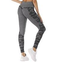 Seamless 2019 Gym Tight Camo Female Tummy Control Yoga Pants High Waist Sport Seamless Leggings Purple Running Legging Women