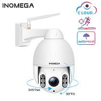 1080P PTZ IP Dome Camera Auto Tracking Speed WiFi Wireless CCTV Camera Outdoor Security Surveillance Waterproof Camera