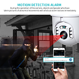 WiFi 1080P IP Camera Wireless Auto tracking PTZ Speed Dome Camera Outdoor CCTV Security Surveillance Waterproof Camera