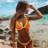Micro Bikini 2019 Sexy Women Swimsuit Swimwear Female Solid Push up Thong Brazilian Bikini set Biquini Bathing Suit